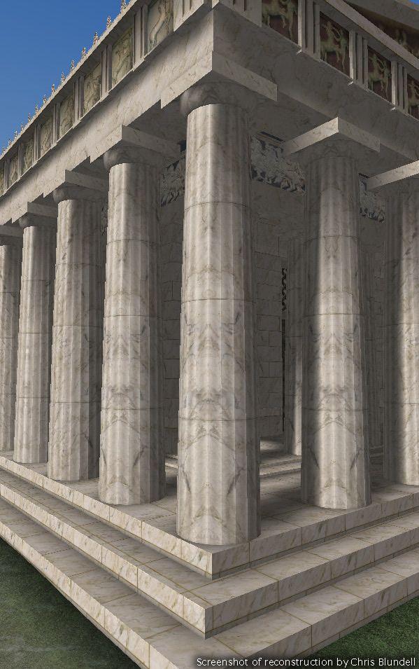 EAW: The Parthenon - Doric Columns circa 2006