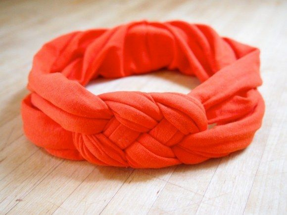 These homemade headbands are really cute and easy!