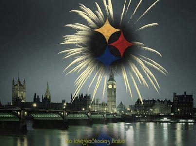 PITTSBURGH STEELERS~Steelers vs Vikings Wembley Stadium London England