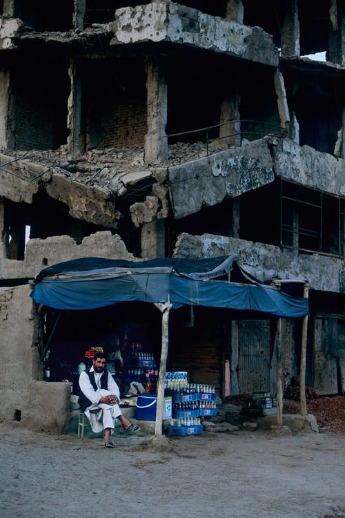 #NaNoWriMo location inspiration Afghanistan, © Steve McCurry    AS YOU CAN SEE, THE HOTEL IS NOT INHABITABLE………….ccp