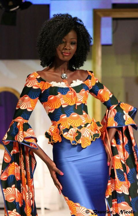 Ivory Coast fashion ~African Prints, African women dresses, African fashion styles, African clothing, Nigerian style, Ghanaian fashion