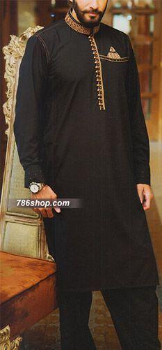 Black Shalwar Kameez Suit | Buy Pakistani Indian Dresses