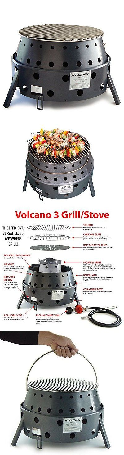 Parts and Accessories 181389: Volcano Grills 3-Fuel Portable Camping Stove BUY IT NOW ONLY: $176.14