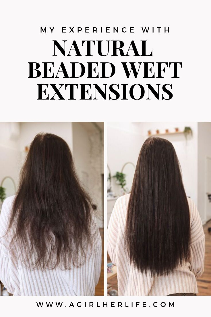 My Natural Beaded Weft Extension Experience — A …