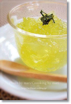 水出し緑茶のとろとろゼリー by will-mari [クックパッド] 簡単 ...