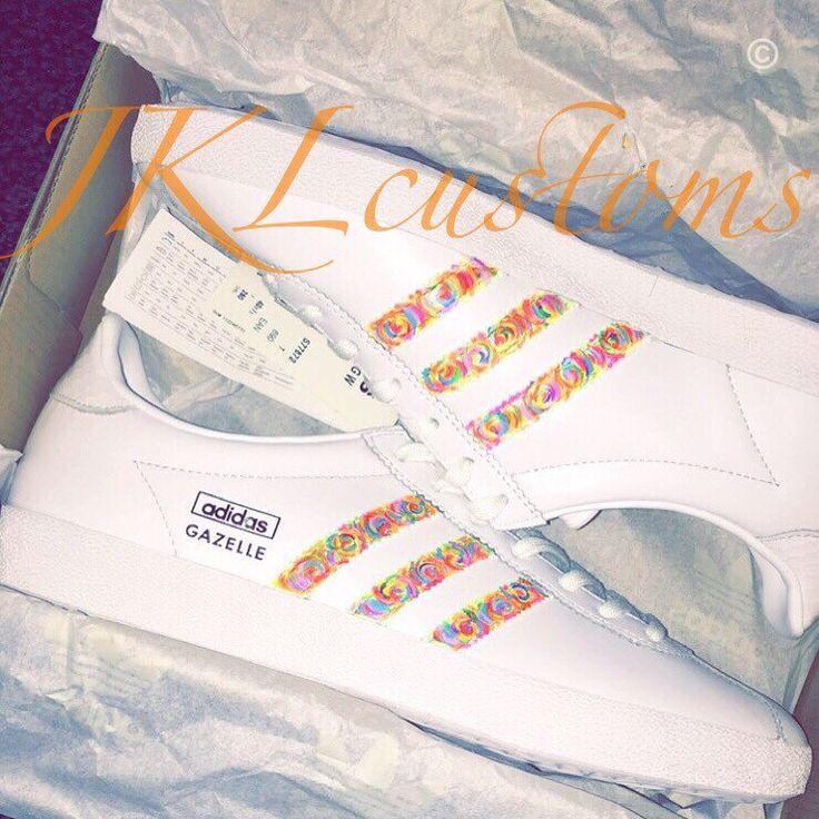 adidas gazelle custom