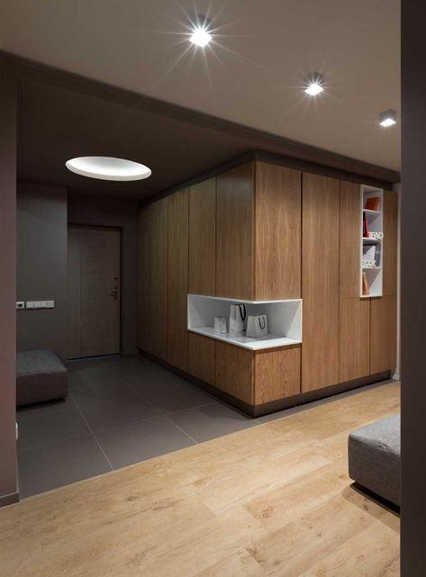 contemporary apartment in Kiev