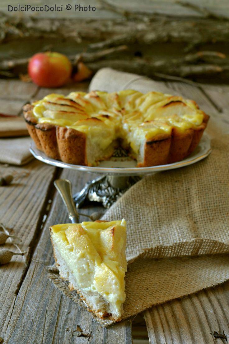 Crostata Delizia senza zucchero con Crema mele limone | Dolcipocodolci