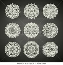Image result for lace circle