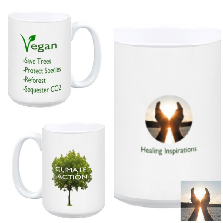 Start your morning with purpose to protect the earth and everyone we love.  TY for taking action.  With every mug sold. you have just planted one tree to provide an home to epecies and to mitigate #ClimateChange. Thank you for Being The Change! ❤️️