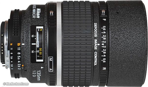 Ideal Uses: Arguably the world's best portrait lens, also Nikon's sharpest 135mm lens.   Nikon 135 mm F/2.0 AF DC Nikkor     Not for: Cheapskates. As a pro lens, it's priced right for a lens which could last you the rest of your life.
