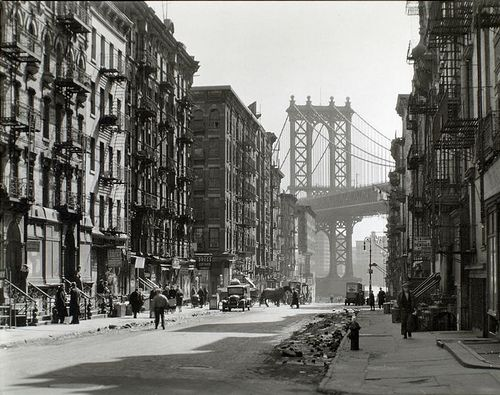 Pike and Henry Streets, Manhattan.    Digital ID: 482679. Abbott, Berenice -- Photographer. March 06, 1936
