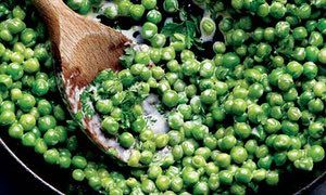 Hugh Fearnley-Whittingstall's peas with chervil
