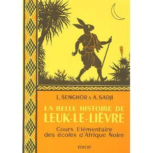 Senegalese book based on African stories. By L. Senghar.