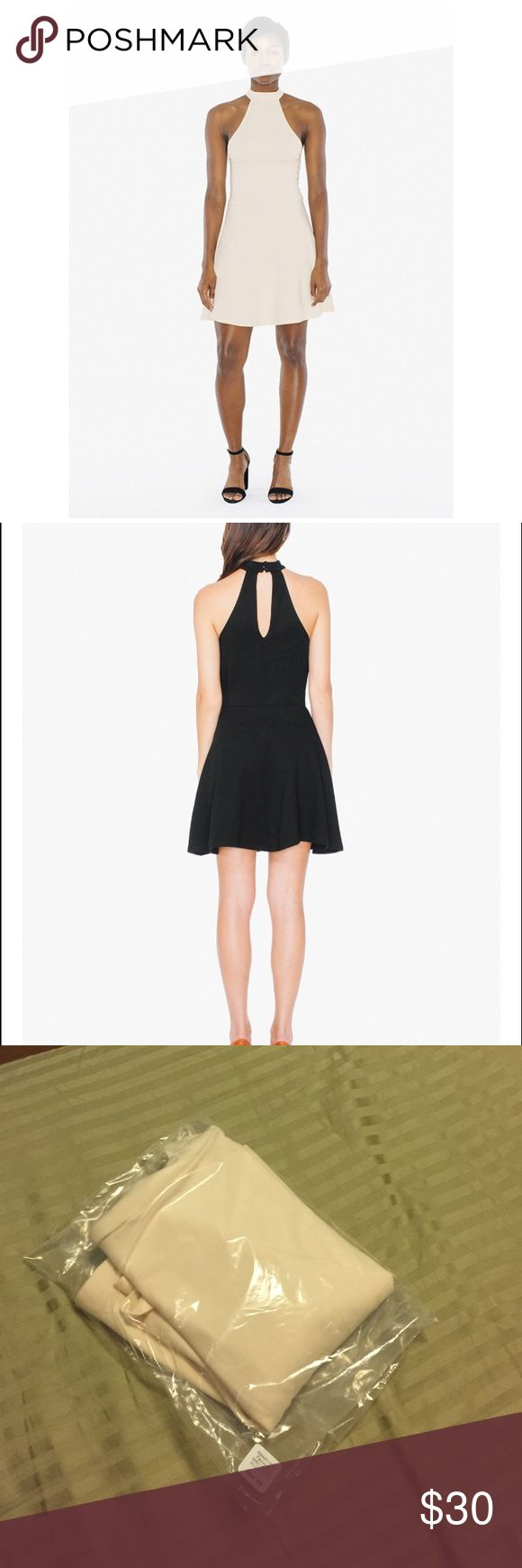 🆕 American Apparel High Neck Halter Trapeze Tent New in bag American Apparel high mock neck skater dress with back keyhole cutout. Never worn, only tried on. American Apparel Dresses Mini