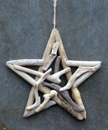 Loving this Driftwood Star Ornament on #zulily! #zulilyfinds