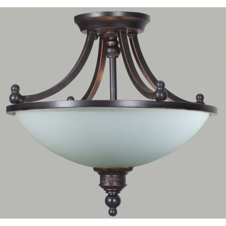 The Arizona 3Lt Semi-Flush Ceiling Light in Bronze is a stunning classical styled semi-flush ceiling light. Crafted from a gorgeous bronze coloured frame with a subtle decorative detail and completed with an opal matt glass shade. A lovely addition to any room.Globe Specification: 3 x 60w E27 Max.Dimensions:Height - 390mm.Diameter - 390mm.Power Rating: 240v.IP Rating: IP20.ASA: Australian Standards Approved.