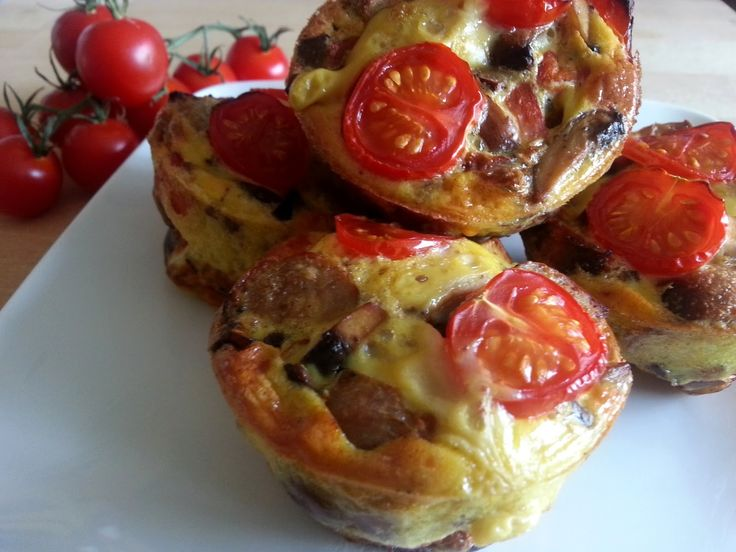 Slimming World Delights: Sausage, Mushroom and Red Pepper Mini Quiches