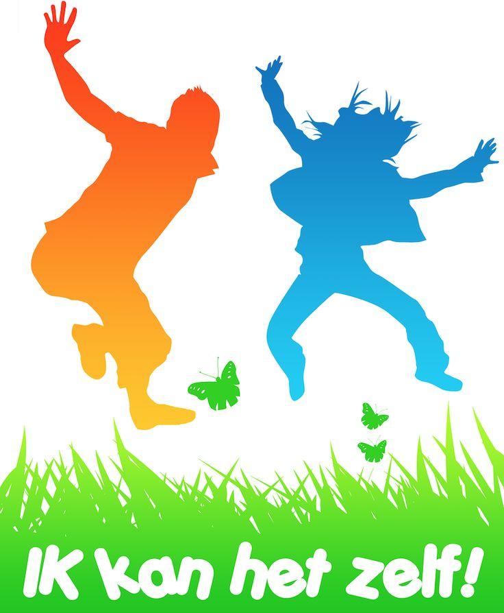 """Logo - """"IK kan het zelf"""" is opgezet vanuit mijn persoonlijke en professionele interesse voor leer- en gedragsproblematiek."""