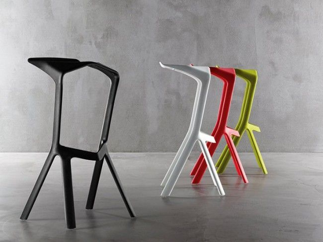 Plank High Stool: Miura Reimagined