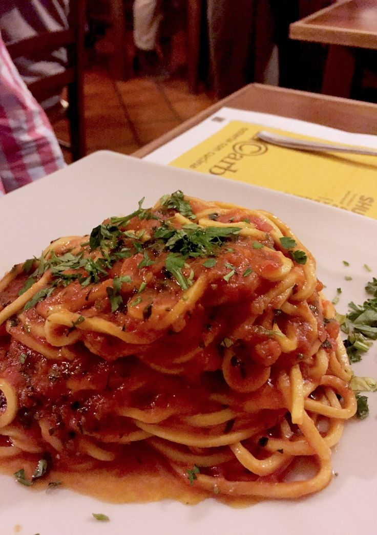Amatriciana in Rome -Quintessential Rome | What You Can't Miss in the Eternal City