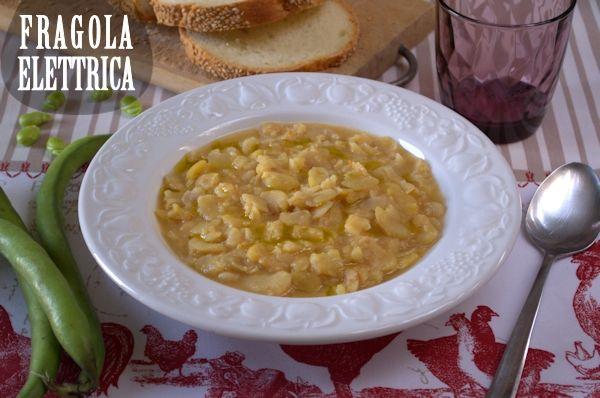 ZUPPA DI FAVE SECCHE fragolaelettrica.com Le ricette di Ennio Zaccariello #Ricetta