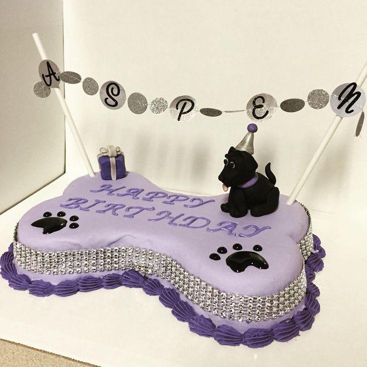 dog bone cake