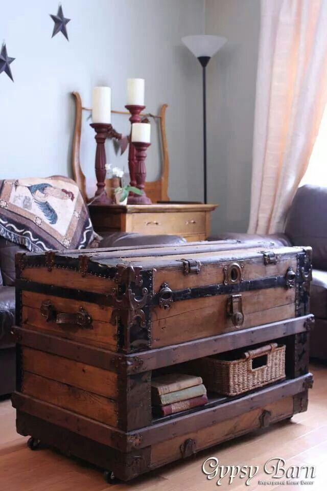 Trunk~ | Antiques/Primitives | Pinterest