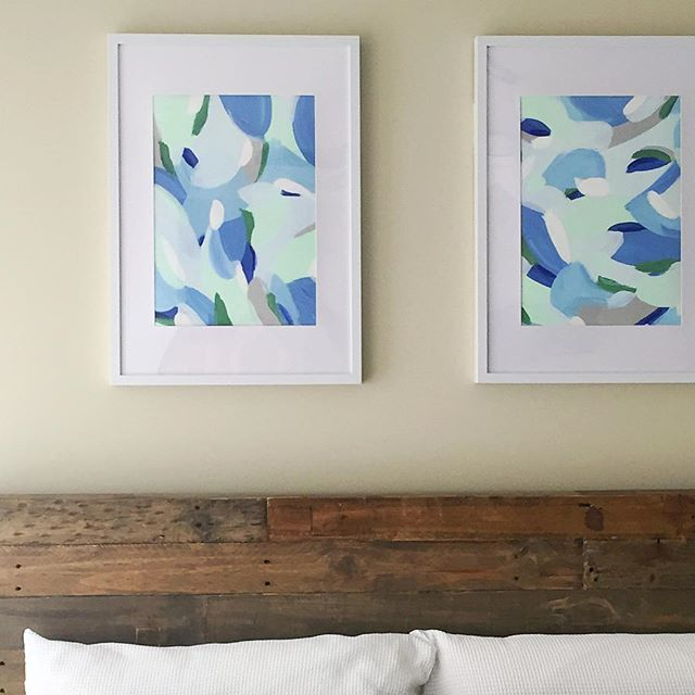 Up & looking purrdy 👌🏼 Irving + Ivy #newprints #comingsoon Kim 💙 #artist #surfacepatterndesigner