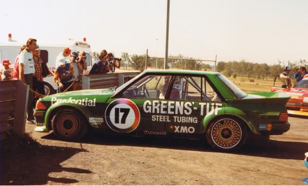"A ""Greens-Tuf"" Falcon will roam the mountain once again. Dick Johnson's iconic 1983 Australian Touring Car Championship livery will make a stunning, one-off return at next weekend's Supercheap Auto Bathurst 1000."