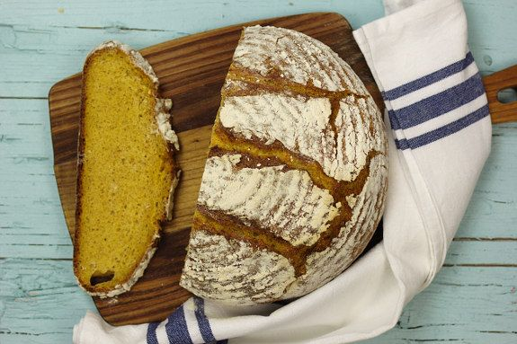 Cinco Quartos de Laranja: Vamos fazer pão: Pão de abóbora assada