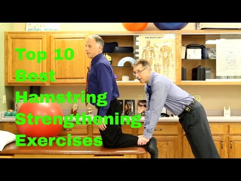 Top 10 Best Hamstring Strengthening Exercises -Easy to Difficult. - YouTube