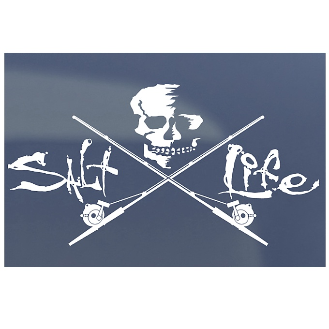 Skull & Trolling Decal