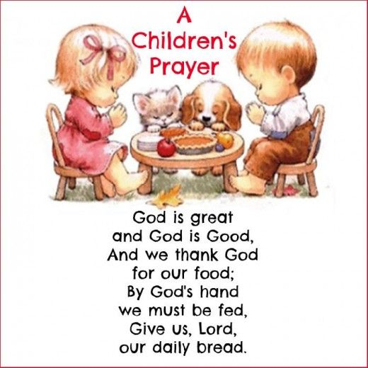 A Short Thanksgiving Prayer for Kids