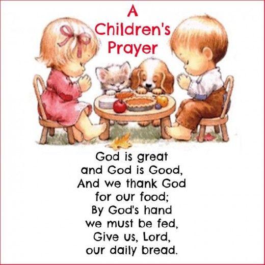 A Short Thanksgiving Prayer for Kids