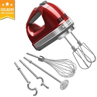 Buy KitchenAid 5KHM9212BER 9-Speed Hand Mixer Empire Red UK Plug online at Lazada. Discount prices and promotional sale on all. Free Shipping.