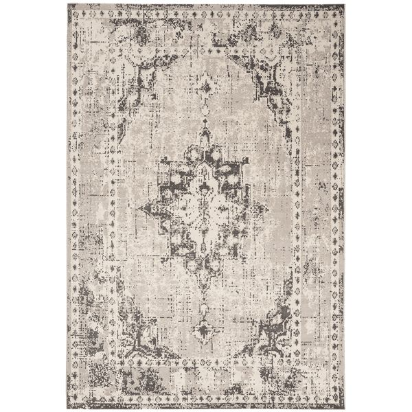 With a distressed antiqued finish, the Revive rug is absolutely bang on trend. Contrasting beautifully with contemporary style interiors, it's power loomed in Belgium from polypropylene so not only looks great but is super durable too.