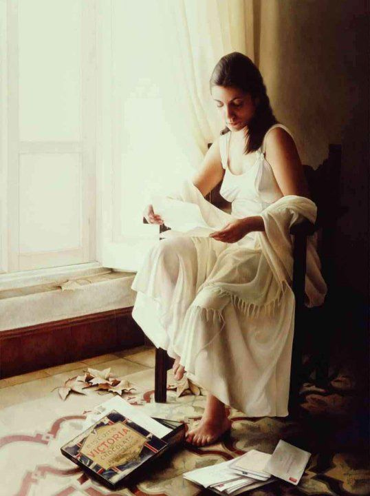 Maria Jose Aguilar Gutierrez 1964 | Realist symbolist painter | Tutt'Art@ | Pittura * Scultura * Poesia * Musica |