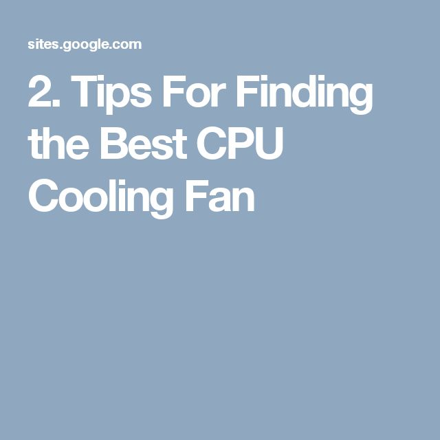 Cooling fans are the small fans built into the CPU or computer system to control the heat of the system. They are also called Computer fans. The heat is produced by the computer system when is it is working and this heat can damage many components of the computer system.