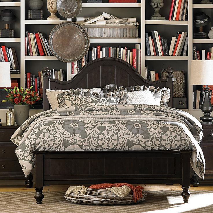 Wakefield collection bassett furniture bedroom furniture pinterest wakefield bedrooms Master bedroom set sylvanian