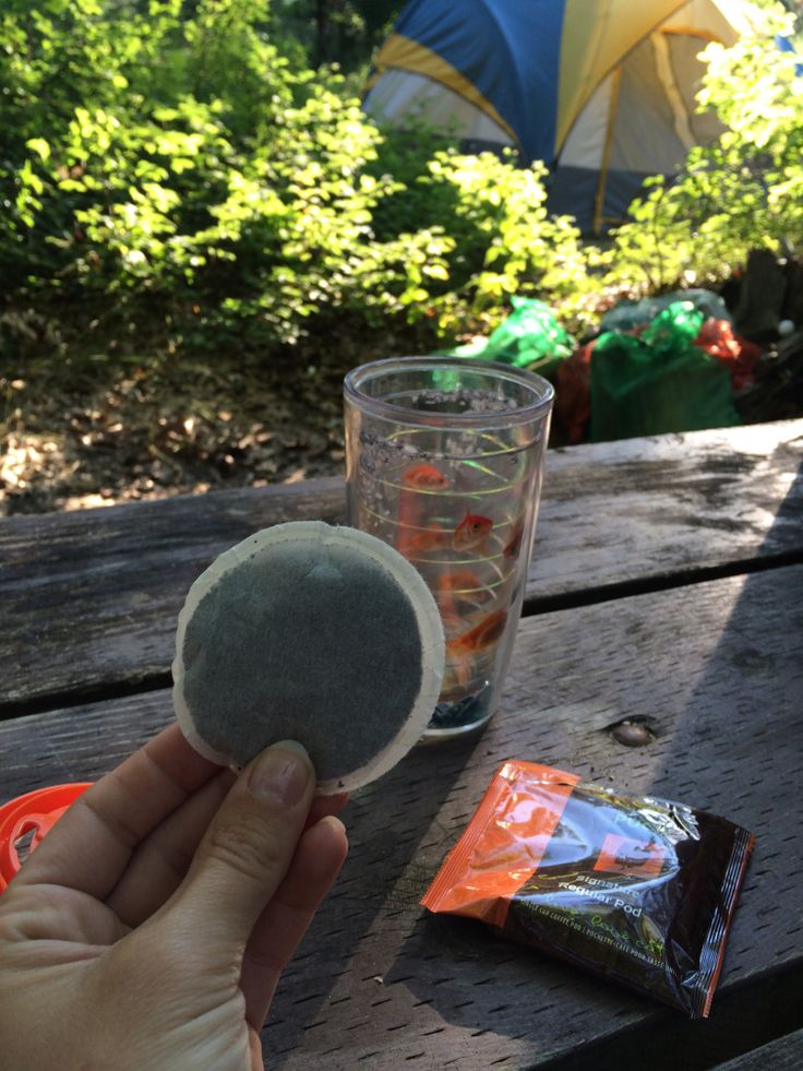 Camping coffee hack.