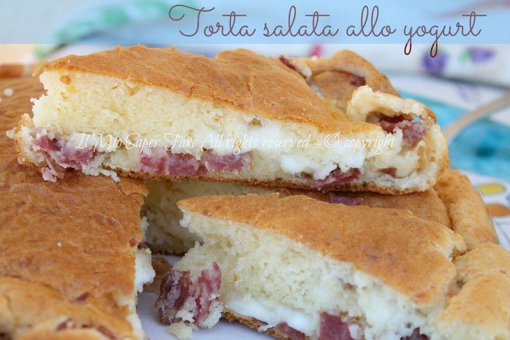 Torta salata allo yogurt 7 vasetti con una consistenza che conquista il palato ;)