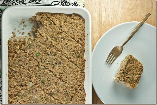 Vegetarian Baked Kibbeh (quibe vegetariano de forno)