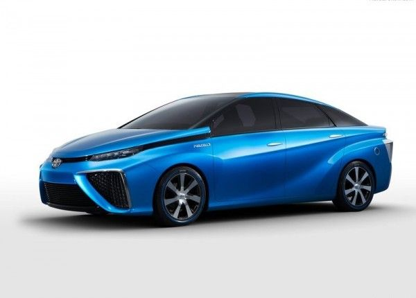2013 Toyota FCV Changes 600x430 2013 Toyota FCV Reviews