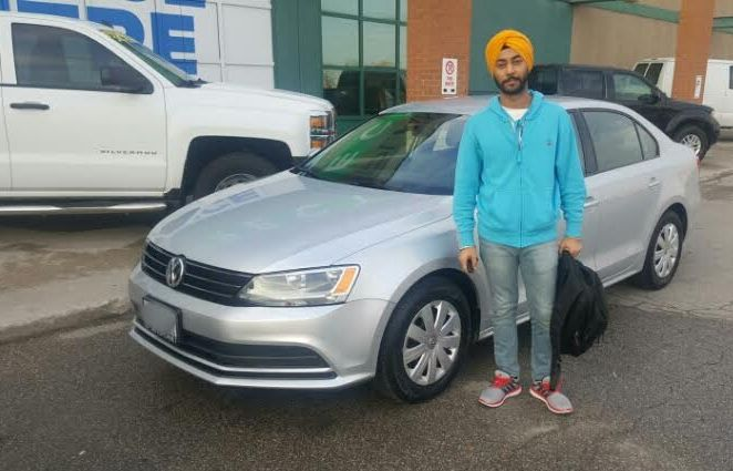 Congratulations to Kaura with his purchase of a 2015 Volkswagen Jetta Trendline Plus @autopdirect! . #autopdirect #autoplanetdirect #usedcars #happy #performanceautogroup #Brampton #volkswagen #vw #jetta  #canada #ontario #fall2016 #autoplanet