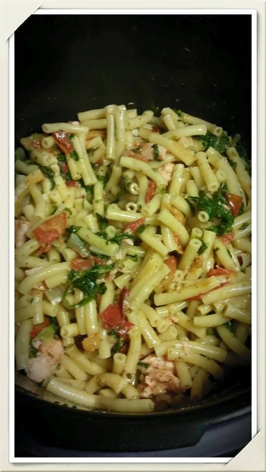 One Pot Pasta au Saumon & Cookeo