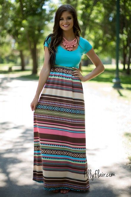 A gorgeous maxi for fall! #modesty