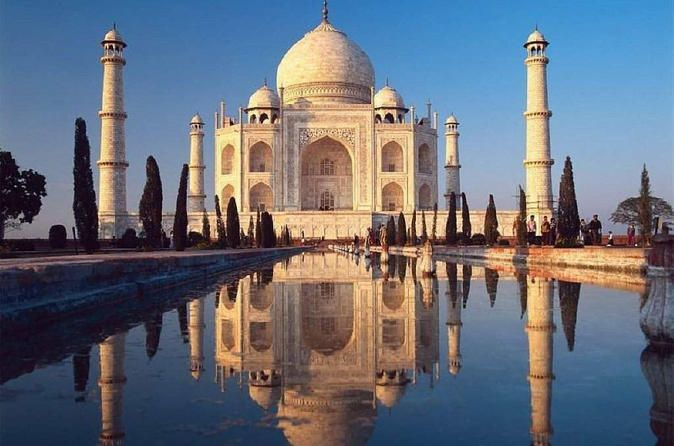 Private Tour: Day Trip to Taj Mahal and Agra Fort from Jaipur While in Jaipur, don't miss India's undisputed highlights: Taj Mahal and Agra Fort, both UNESCO World Heritage Sites. On this private tour, venture to Agra and tour the Taj Mahal, a majestic architectural wonder built by Mughal Emperor Shah Jahan in memory of his third wife. Enjoy a traditional Indian lunch and then discover ancient Agra Fort, a massive monument resembling a walled city. Your private guide wil...