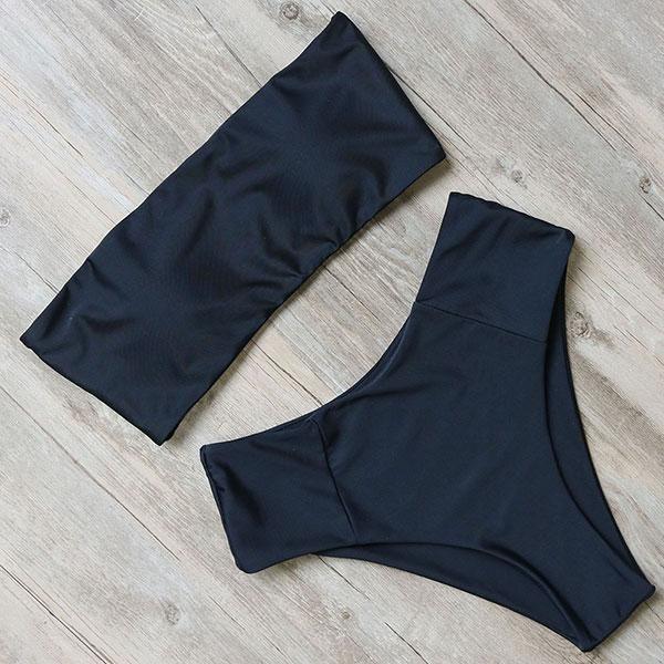 Bandage bikini swimwear women swimsuit