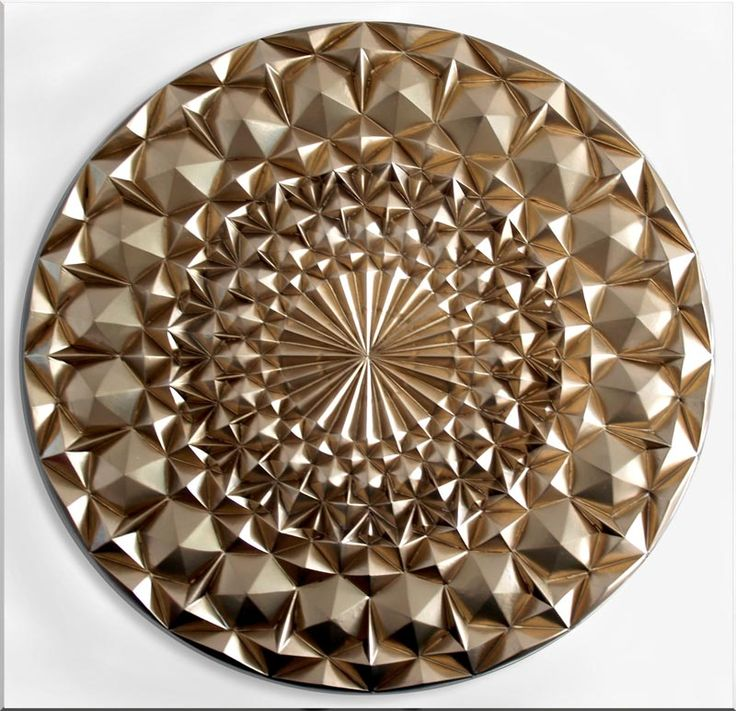 Cuadros modernos plateados o dorados decorar con mandalas for Cuadros modernos plateados